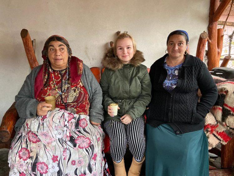 În familiile de țăgani, femeia cea mai bătrână este șefa casei